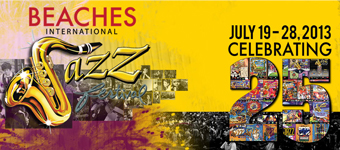 Iris BackAyard is at the Beaches Jazz Festival